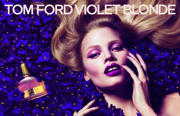 Violet Blonde Double Page AD