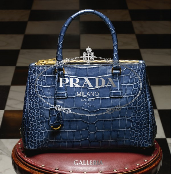 prada alligator purse