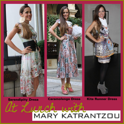 At Lunch with Mary Katrantzou
