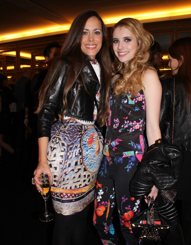 Emma Roberts and me