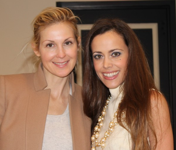 Kelly Rutherford with me