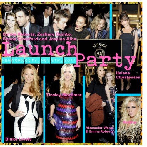 Launch Party Versace for H&M
