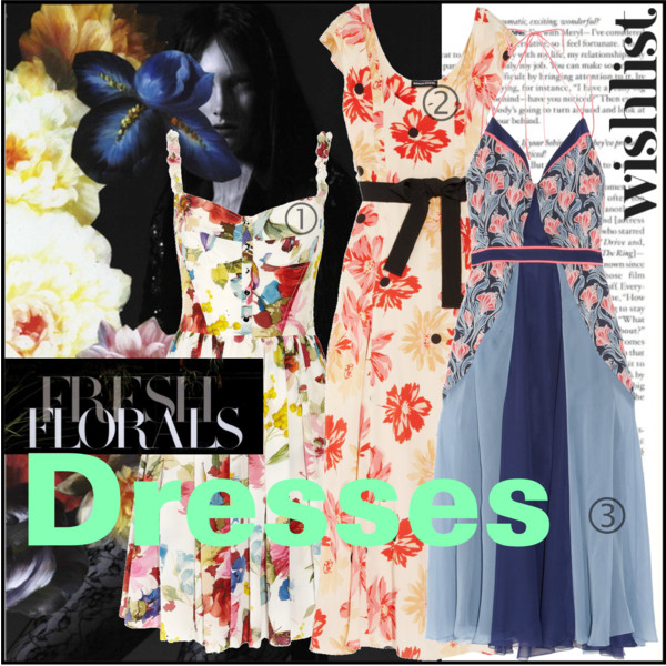 Fresh Florals Dresses