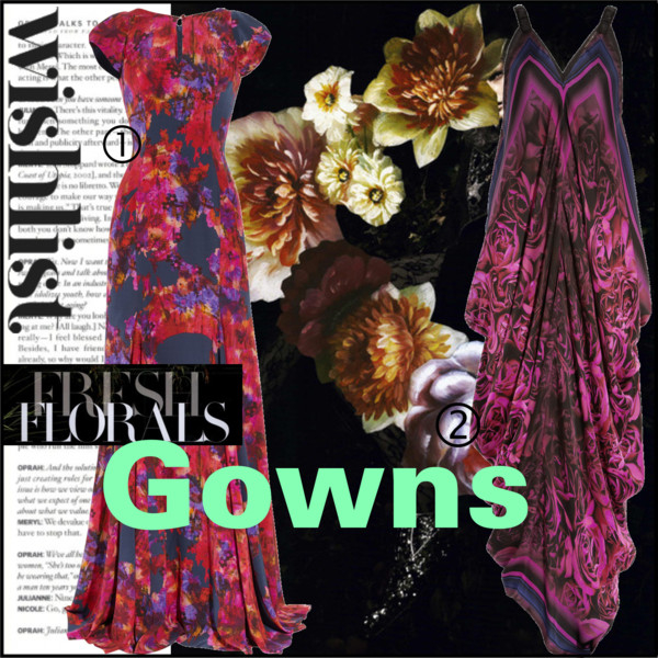 Fresh Florals- Gowns
