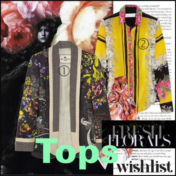 Fresh Florals- Tops
