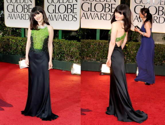 Zooey Deschanel Prada Custom