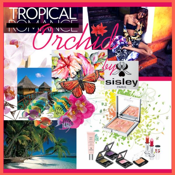 tropical orchid by sisley