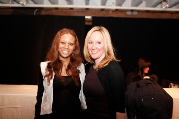 Stephanie Horton, Head of Global Communications, SHOPBOP and Megan Salt, Director of Communications, VOGUE