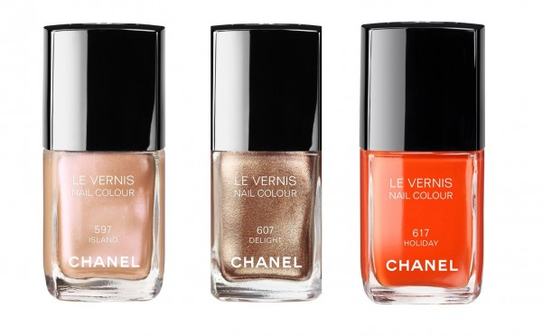 Chanel Lacquers Summertime