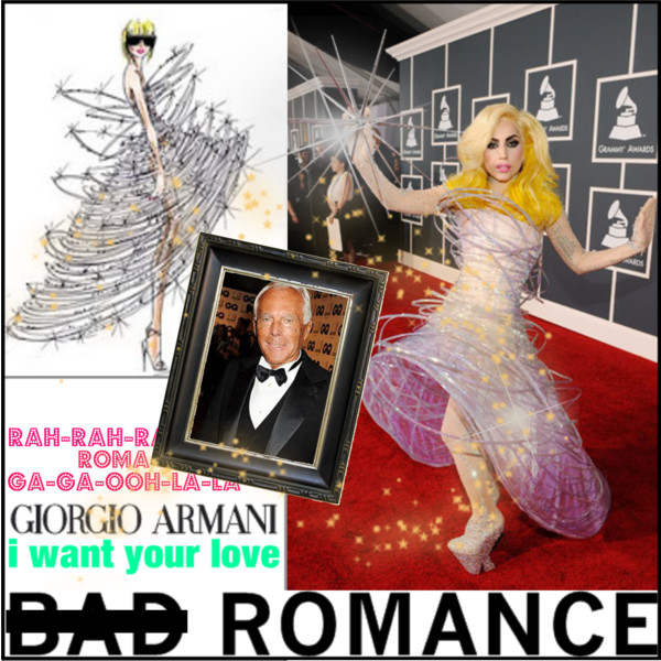 Lady Gaga Goes Armani