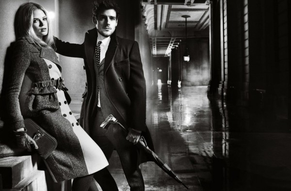 1burberry autumn winter 2012 ad campaign featuring gabriella wilde and roo panes