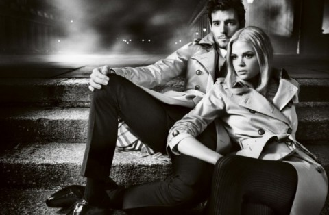 3burberry autumn winter 2012 ad campaign featuring gabriella wilde and roo panes-1
