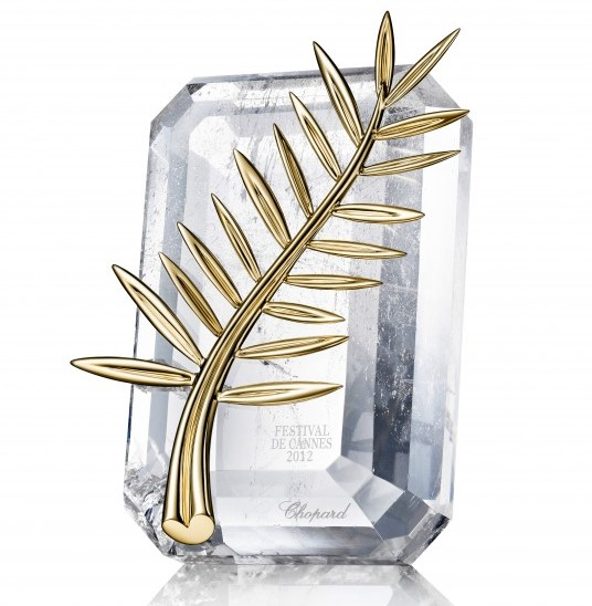 The 2012 Palme d'Or white