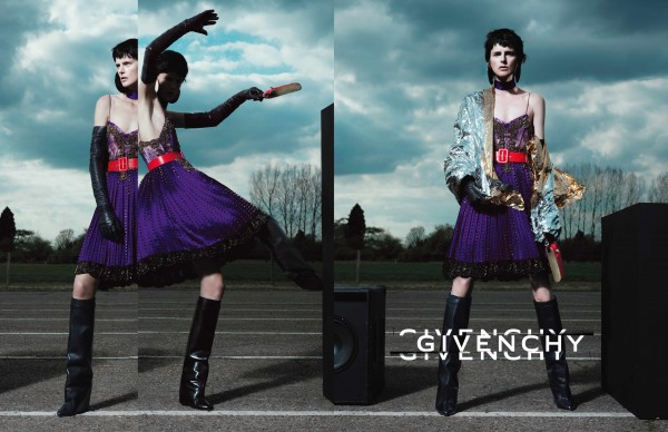GIVENCHY BY RICCARDO TISCI FW12- 13 AD CAMPAIGN 3