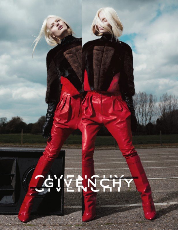 GIVENCHY BY RICCARDO TISCI FW12-13 AD CAMPAIGN 4