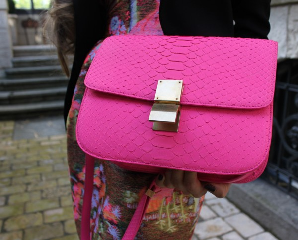 celine mini pink - python box bag | Sandra\u0026#39;s Closet