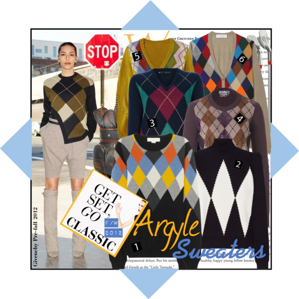 Argyle Sweaters Numbers