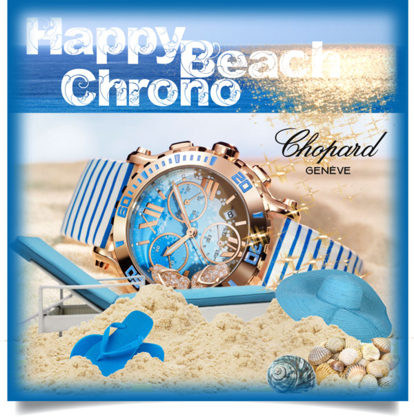 Happy Beach Chrono Chopard Cover