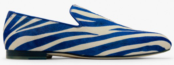 Jimmy Choo Zebra Blue