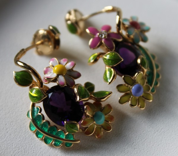 Dior Earrings Diorette 3