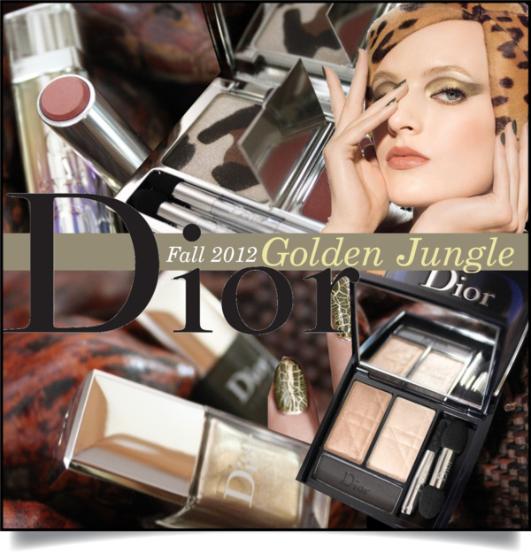 Dior Golden Jungle Fall 2012