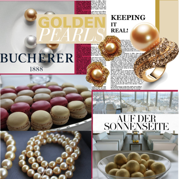 Golden Pearls by Bucherer