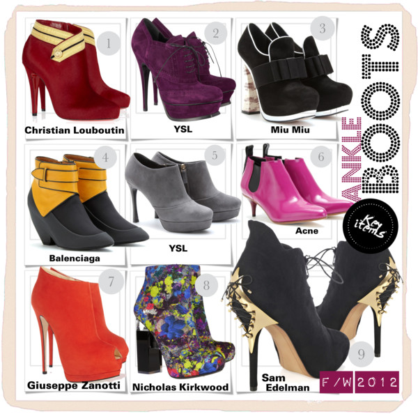 Ankle Boots F:W 2012