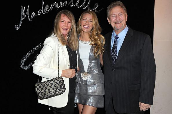 Blake with parents