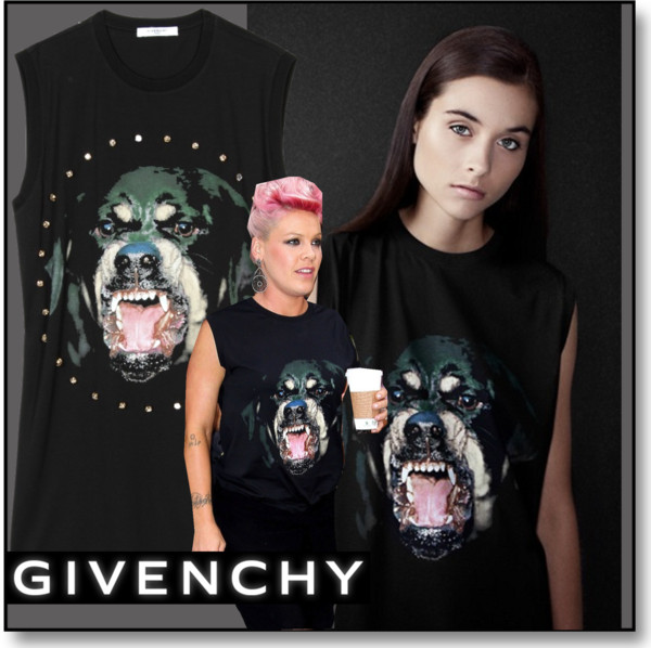 Givenchy Rottweiler Tank Top