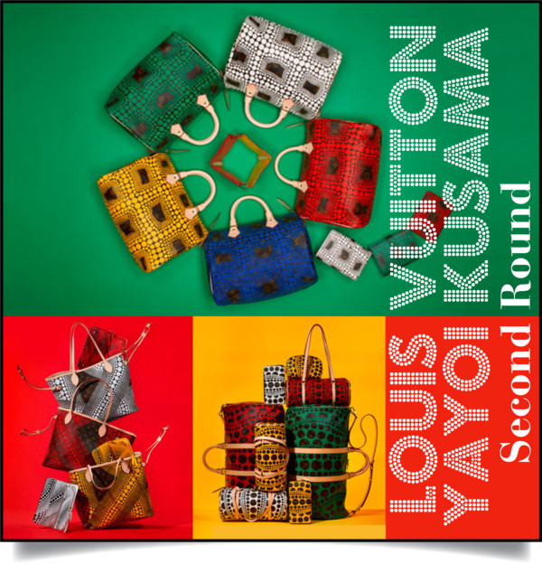 LouisVuitton Kusama 2nd Round