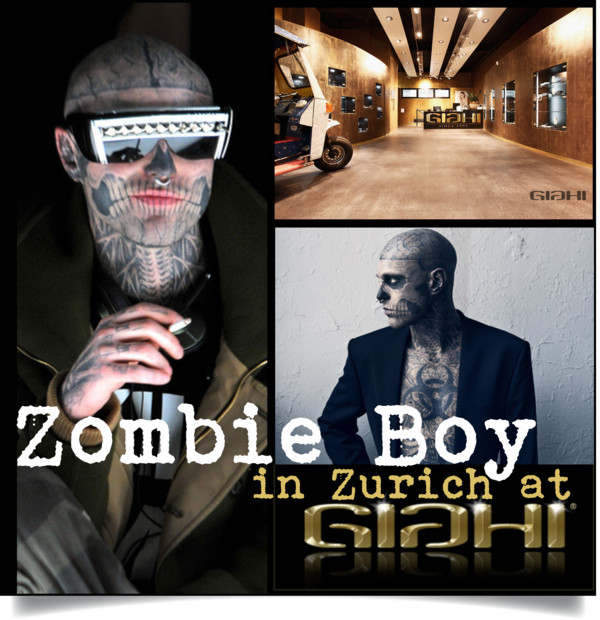 Zombie Boy in zurich