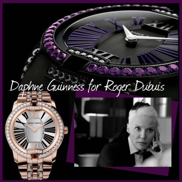 Daphne Guinness for roger dubuis
