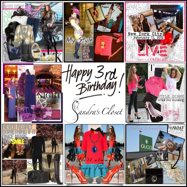 Happy3rdBirthdaySandra'sCloset