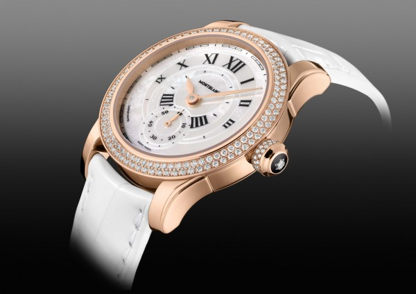 Montblanc Villeret Seconde Authentique diamonds