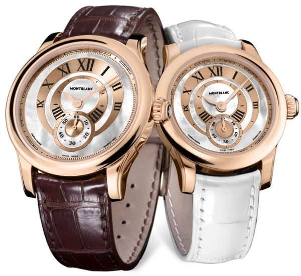 Montblanc Villeret Seconde Authentique pair