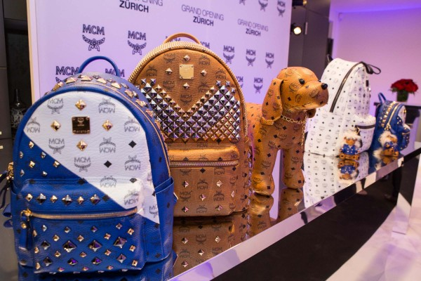 MCM_Shop_Opening_zurich_Backpacks