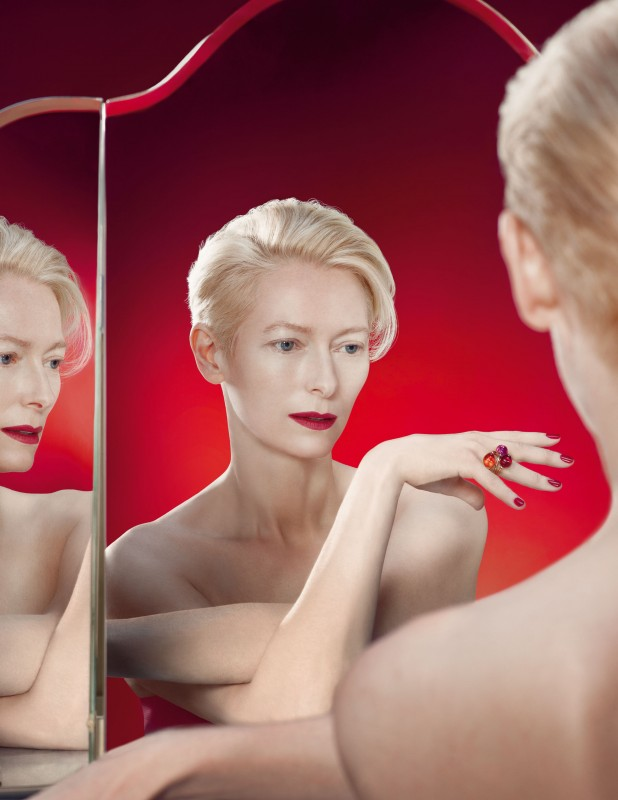 Rouge Passion - Tilda Swinton for Pomellato by Solve Sundsbo