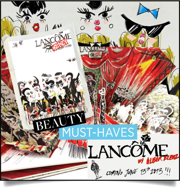 Alber Elbaz puts on a show for Lancôme