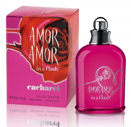 Amor Amor in a flash by Cacharel EDT