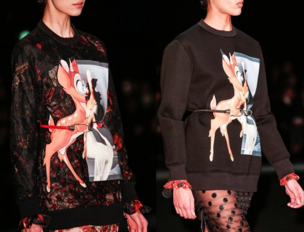 Bambi Sweater - close -Givenchy
