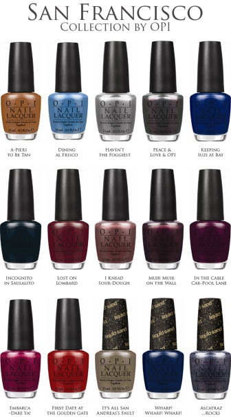 Collection SF by OPI