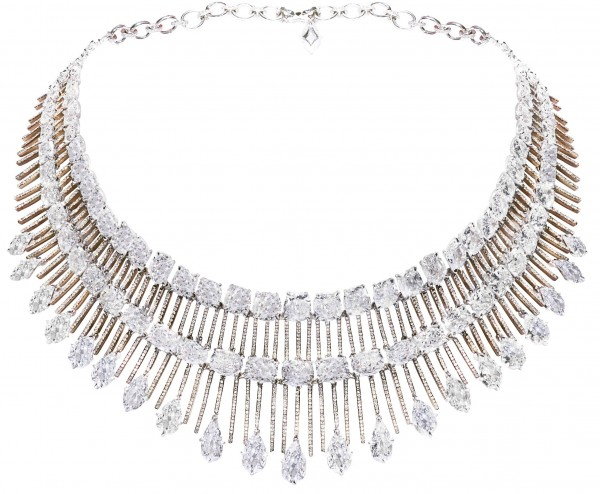 Diamond necklace Chopard