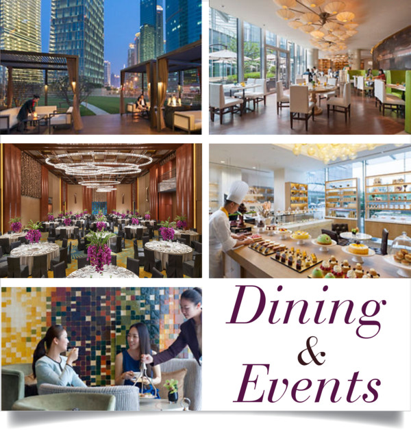 Dining & Events Mandarin Oriental Pudong Shanghai