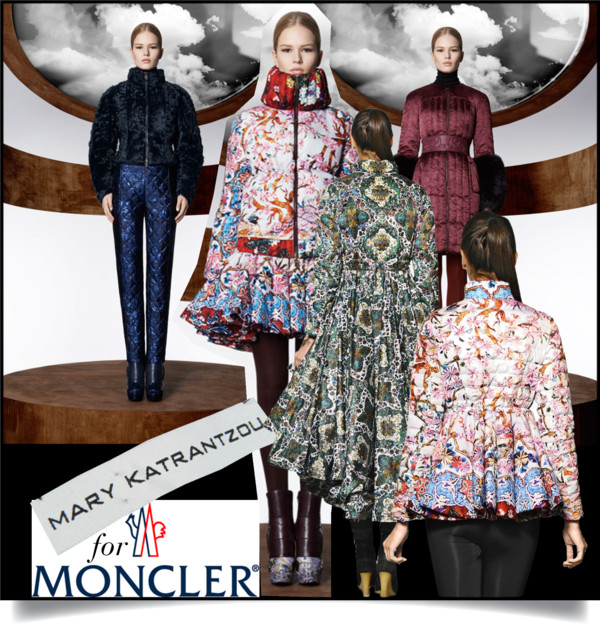 Mary Katrantzou for Moncler