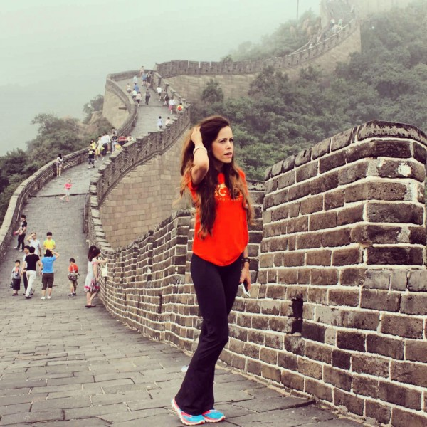Sandra Bauknecht Great Wall July 2013