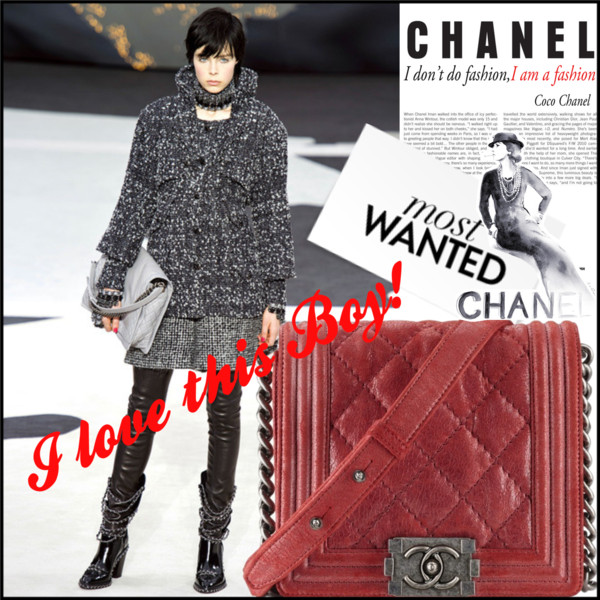 Chanel Boy Bag AW 2013