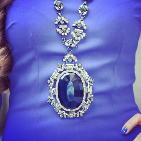 Lanvin Necklace Blue