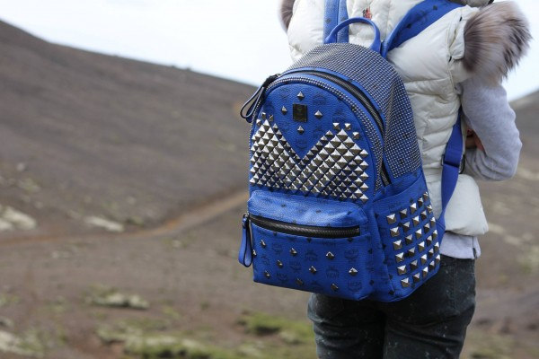 MCM Studded Backpack - Hiking Iceland