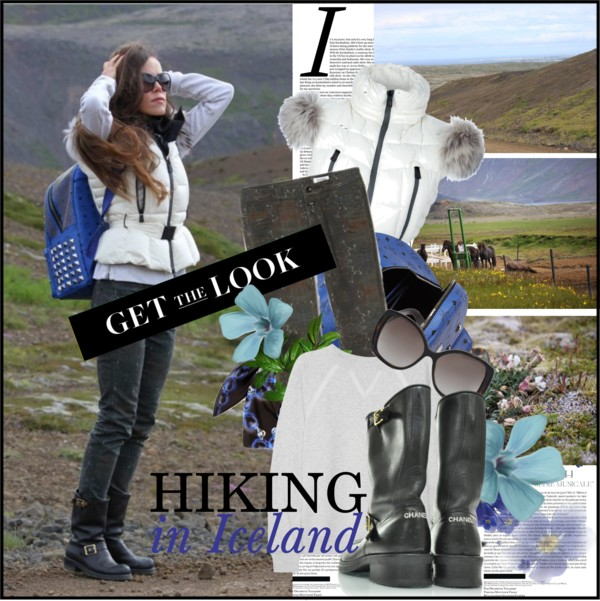 Sandra Bauknecht - Hiking in Iceland