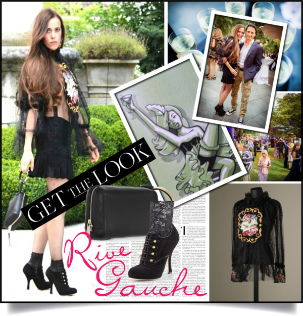 Sandra Bauknecht Rive Gauche Party Cover